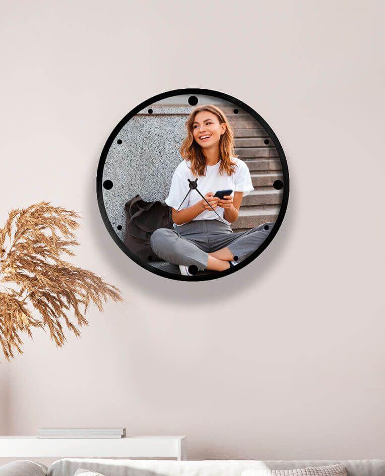 Часы с фото любимой девушки