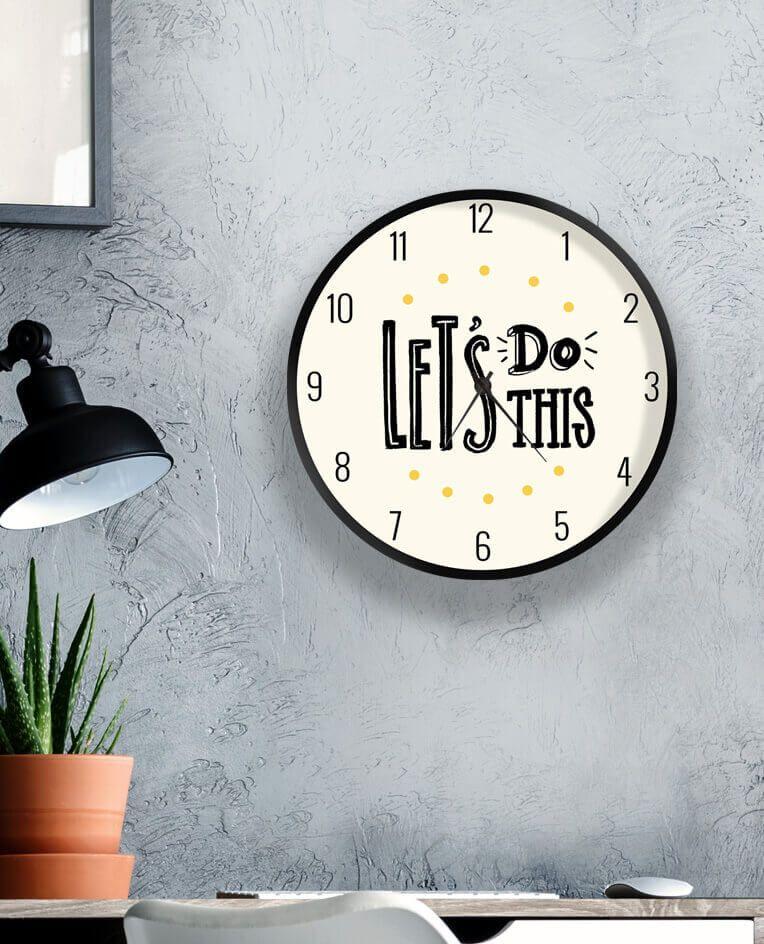 Годинники з мотивуючими написами на замовлення