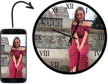 Завантажте фото і виберіть дизайн майбутнього годинника