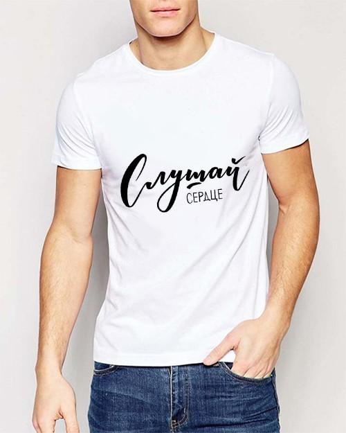 Как определить размер футболки без мужчины